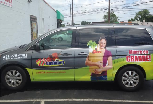 Car graphics | Signs in Rockville