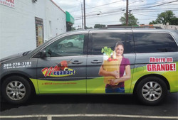 Car graphics   Signs in Rockville