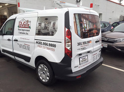 Vehicle graphics   Signs in Rockvill