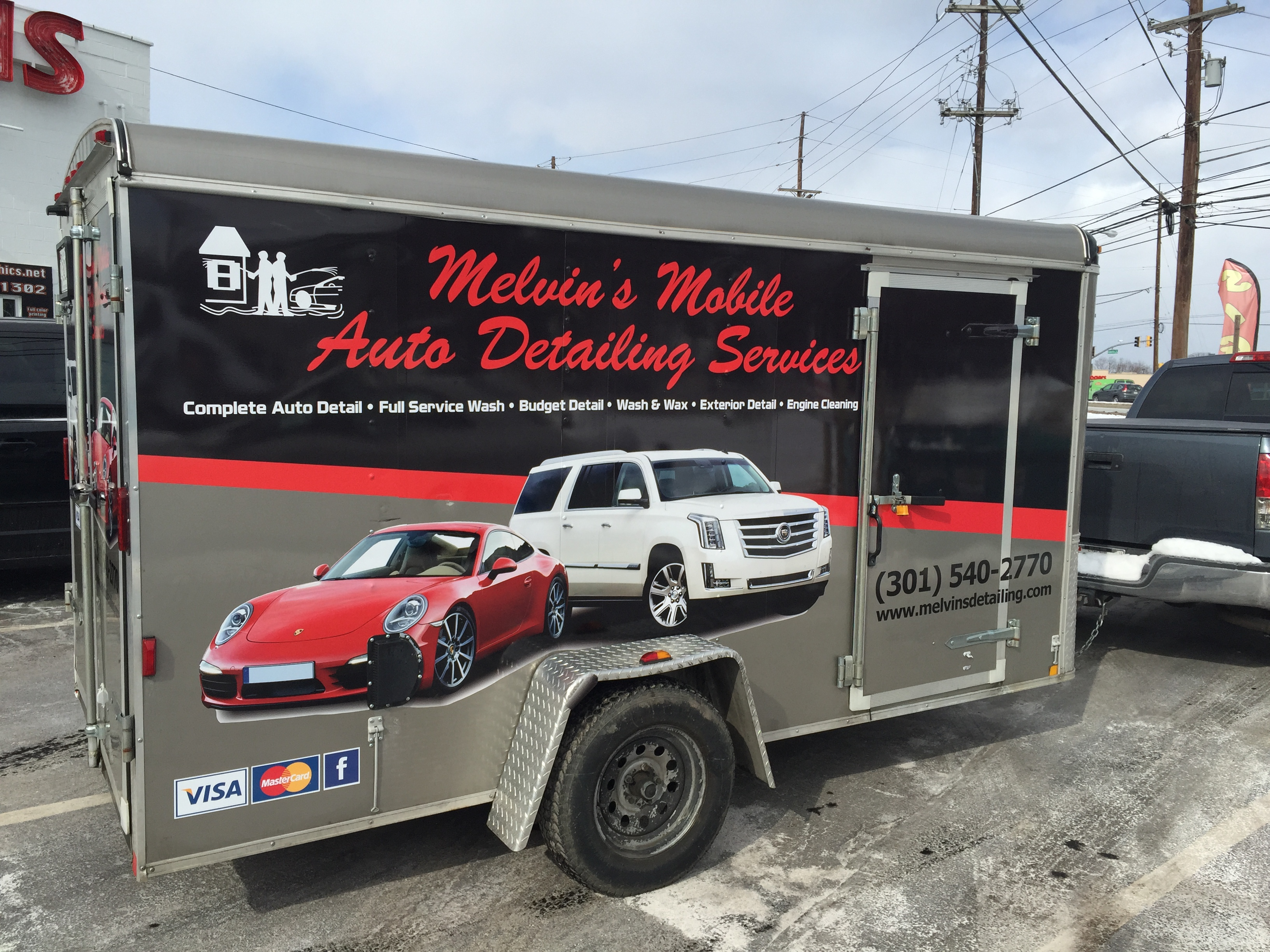 Trailer Wraps | Signs in Rockville