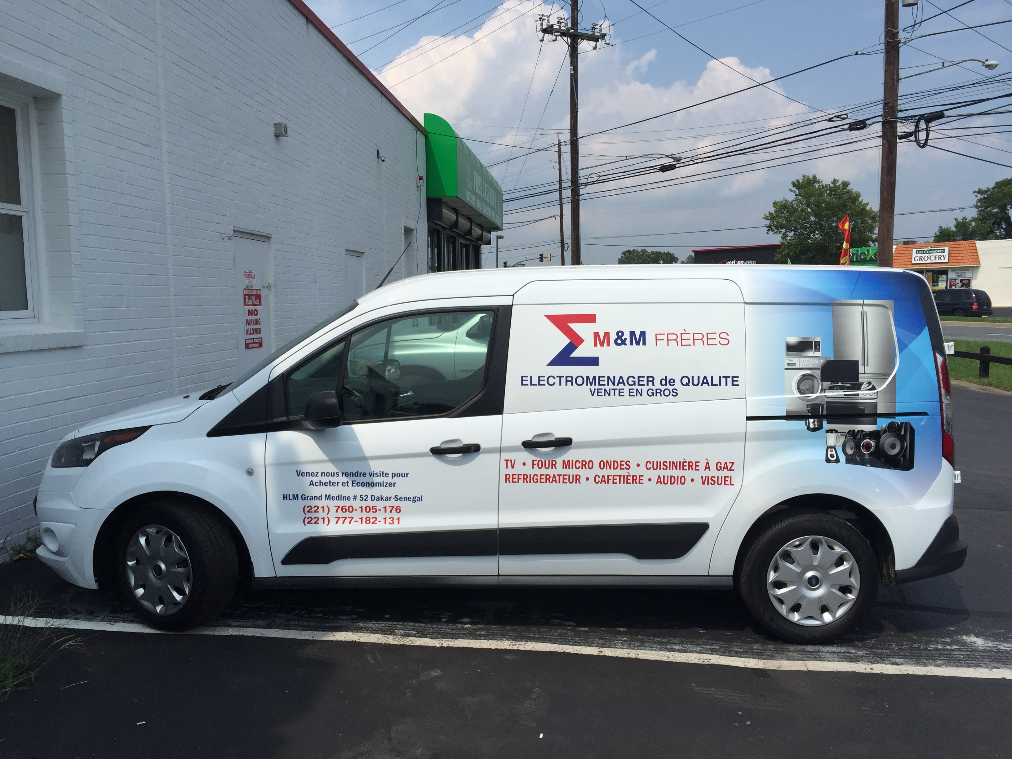 partial wrap van | Signs in Rockvill
