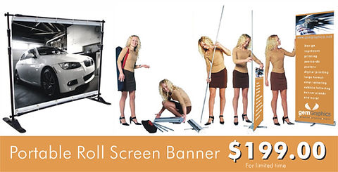 Banner stand | Signs in Rockville