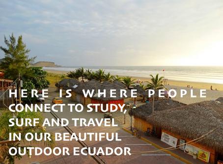 Spanish Surf Travel Stay in Ecuador Olon Montañita