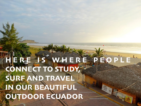 Spanish Surf Travel Stay in Ecuador Olon Montañita