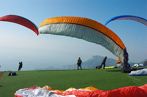 passager en parachute