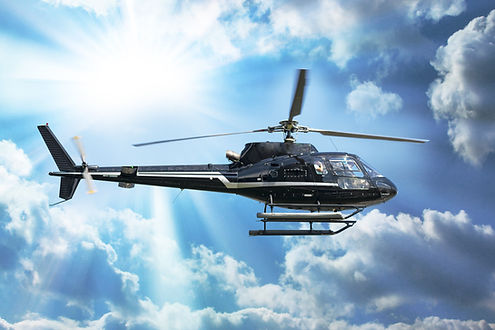 passager en hélicoptère