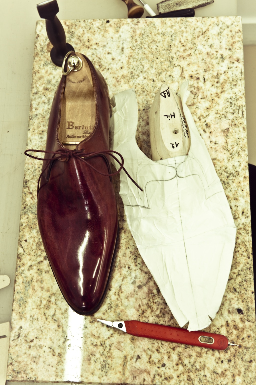 Berluti Workshop - Rue Marbeuf