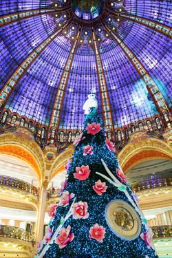 GALERIES LAFAYETTE - CHRISTMAS TREE