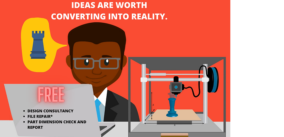 IDEAS ARE WORTH CONVERTING INTO REALITY.