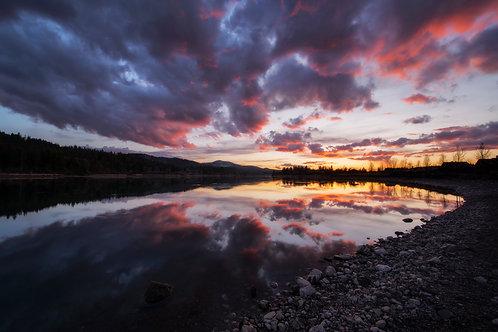 Spokane River Sunset