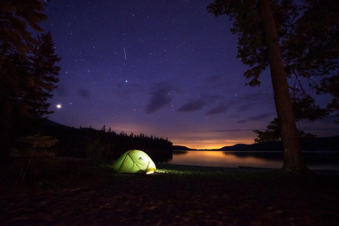 Starlight Over Priest Lake
