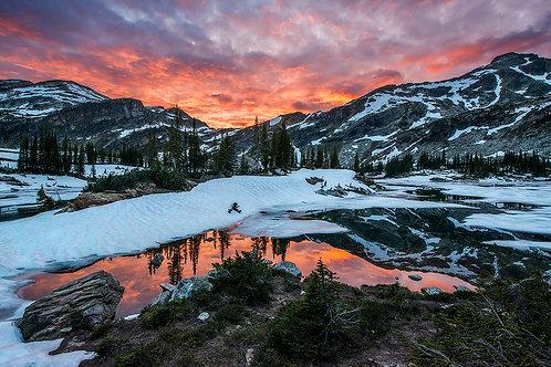 Valhalla Provincial Park Sunset