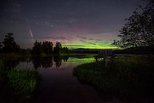 Aurora Over Idaho