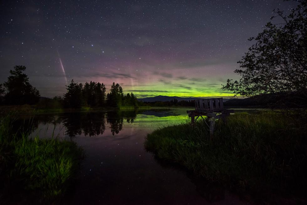 Aurora Over Idahoo