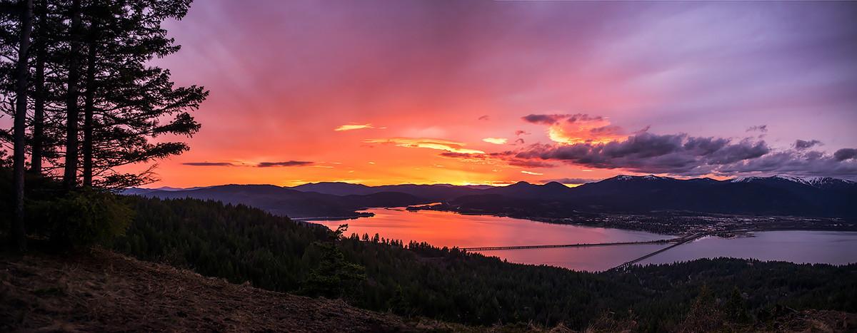 Gold Hill Sunset