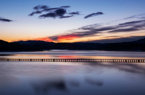 Lake Pend Orielle Sunset