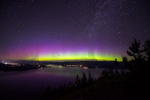 Lake Pend Oreille Aurora