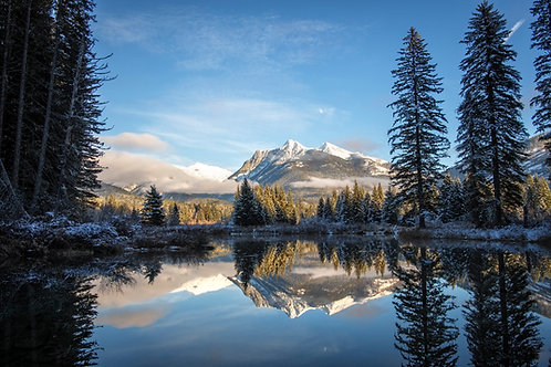 Ibex Peak Reflection