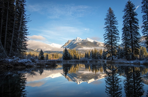 Ibex Peak Reflection