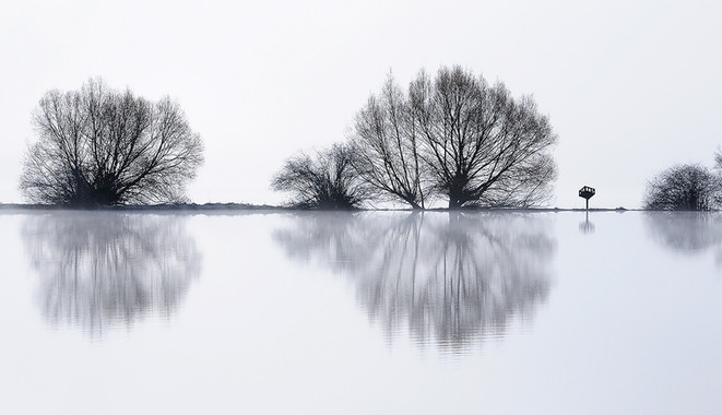 Blanchard Lake Reflection