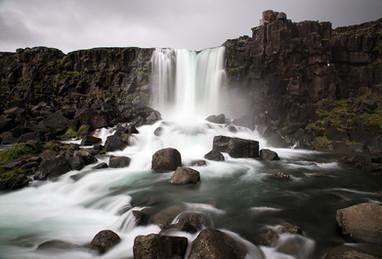 Oxararfoss in Iceland