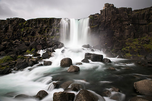 Oxararfoss in Iceland