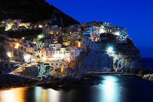 Evening in Manarola Italy
