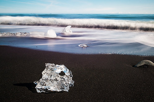 Diamond Beach in Iceland