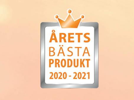 Vi är nominerade i Årets bästa produkt