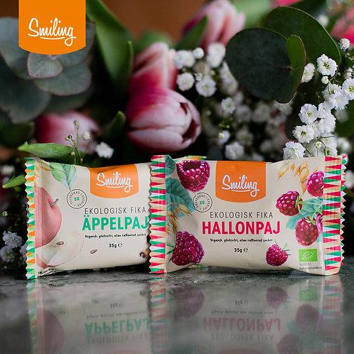 Mixlåda Äpple- & Hallonpaj -  6 av varje