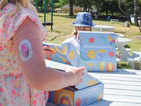 Smilingprodukter för barn med typ 1-diabetes