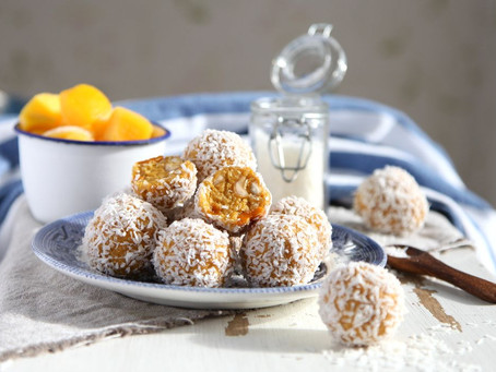 Maggies Raw mango bliss balls