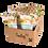 Thumbnail: Fruktbollar Ananas/ingefära Hel låda (10 st)