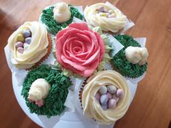 flower cupcakes bouquet
