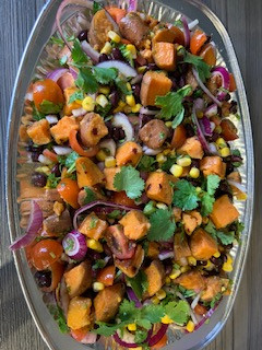 sweet potato tex mex
