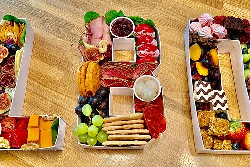 Letter/Number Platters