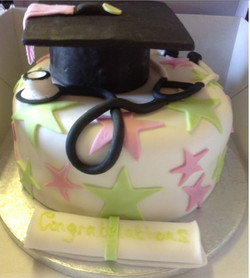 Guaduation cake