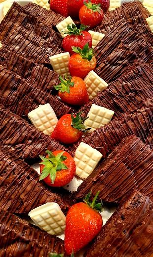 homemade chocolate brownie platter.jpg