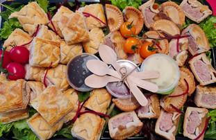 dinky pork pie & sausage rolls.jpg