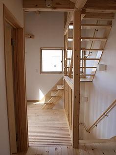 リビングイン階段