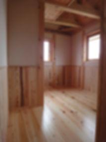 地域木材使用のナチュラルハウス