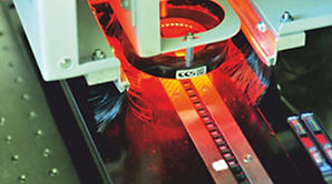 Laser Marking of components at Lewmax