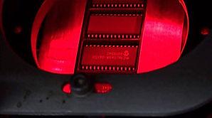 Laser removal of OEM number at Lewmax