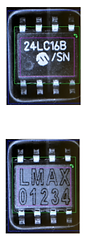 Example of products that have had OEM number removed and replaced by laser at Lewmax