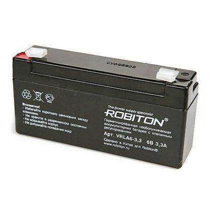 Аккумулятор ROBITON VRLA6-3,3
