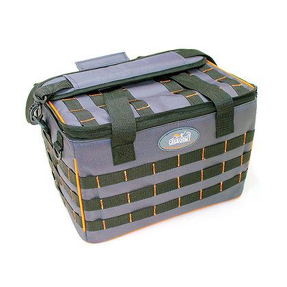 PF-BLBXL-L28G Сумка рыболовная СЛЕДОПЫТ Base Lure Bag XL серая