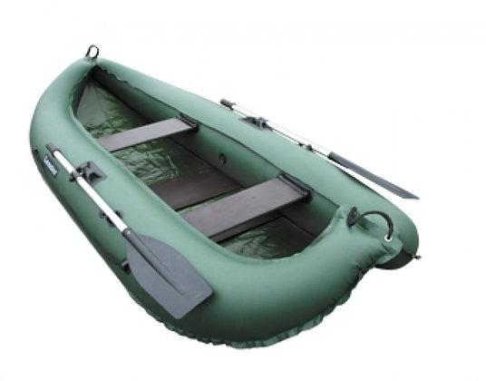 Лодка КОМПАКТ-260 зеленая