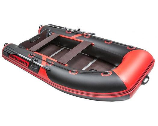 Лодка GAVIAL Lux 320CK ELEGANT красная/серая