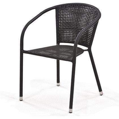 Y137B-W51 Кресло из иск. ротанга Brown