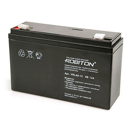 Аккумулятор ROBITON VRLA6-12